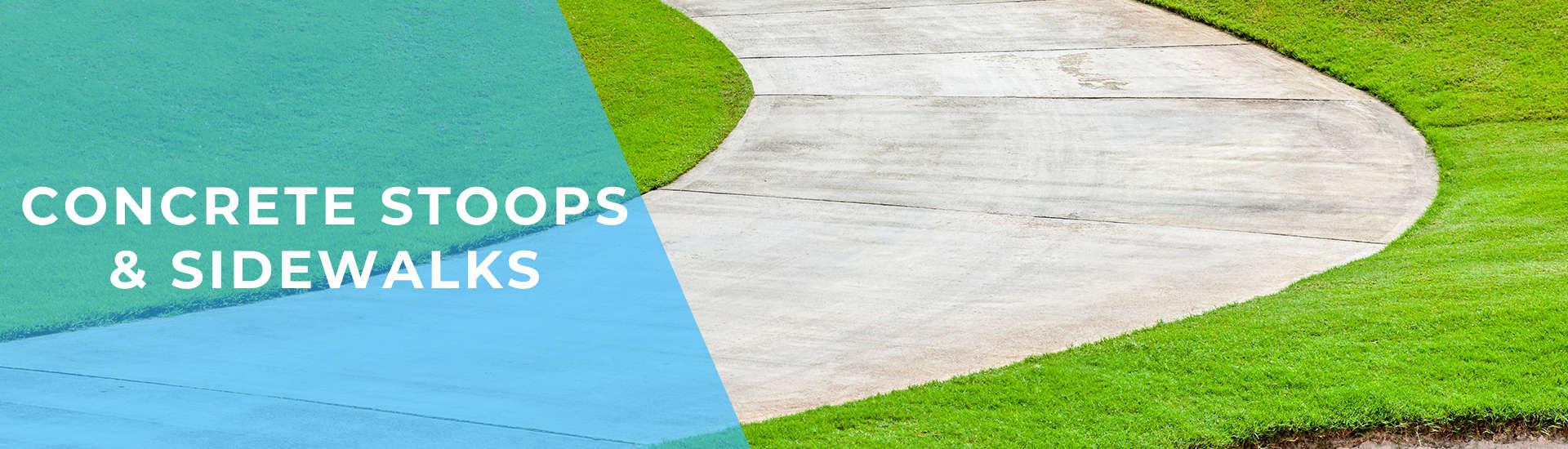 Concrete Stoops & Sidewalks