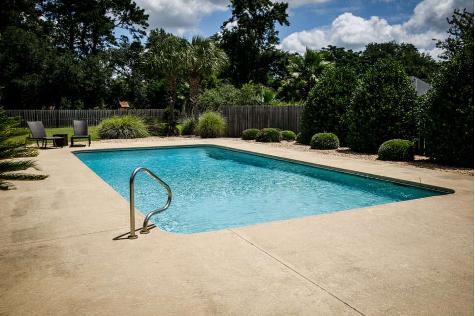 Cool Deck Pool Coating