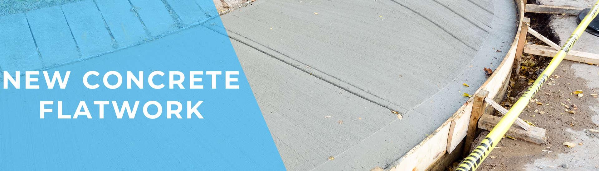 New Concrete Flatwork