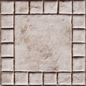 "18"" Tumbled Edge Stone with 4"" Stone Border"