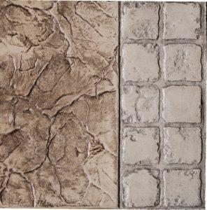 "4"" x 4"" Granite Border 2 Row"