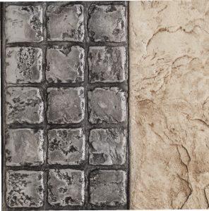 "4"" x 4"" Granite Border 3 Row"
