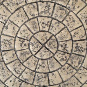 Mayan Cobblestone Circle