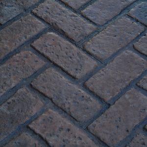Old Chicago Herringbone Brick